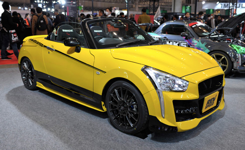 COPEN x REV SPEED 車両